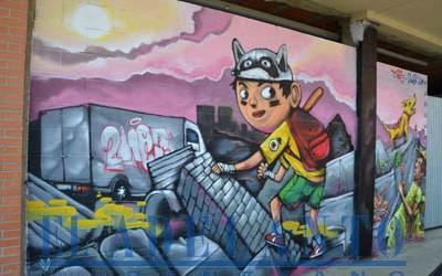 Obra_de_2NeZ-y-LER_en_la_calle_Alfarero(TAB)